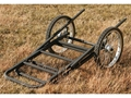 Product detail of Big Game The Lock and Load Game Cart Steel Black