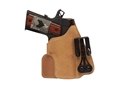 "Product detail of Blackhawk Tuckable Holster Inside the Waistband 2"" Barrel 5 shot Revolver Leather Tan"