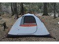"Product detail of ALPS Mountaineering Lynx 2 Dome Tent 5' x 7'6"" x 3'10"" Polyester Brown, Orange and White"