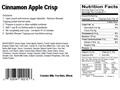 Product detail of Natural High Cinnamon Apple Crisp Freeze Dried Meal 4 oz
