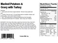 Product detail of AlpineAire Mashed Potatoes and Gravy with Turkey Freeze Dried Meal 5.8 oz