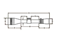 Thumbnail Image: Product detail of Zeiss Diavari VM/V Rifle Scope 30mm Tube 1.5-6x 4...