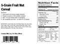 Product detail of AlpineAire 5-Grain Fruit Nut Cereal Freeze Dried Meal 5 oz
