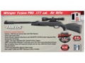 Product detail of Gamo Whisper Fusion Pro Pellet Air Rifle Black Synthetic Stock Matte Barrel with 3-9x40mm Scope