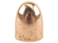 Hornady Bullets 9mm (355 Diameter) 100 Grain Full Metal Jacket Round Nose