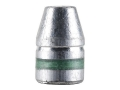 Hunters Supply Hard Cast Bullets 357 Sig (356 Diameter) 125 Grain Lead Flat Nose