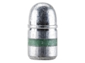 Hunters Supply Hard Cast Bullets 38 Caliber (357 Diameter) 158 Grain Lead Round Nose