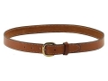 Hunter 5800 Pro-Hide Belt 1-1/4&quot; Brass Buckle Leather