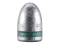 Hunters Supply Hard Cast Bullets 9mm (356 Diameter) 115 Grain Lead Round Nose