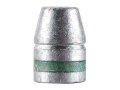 Hunters Supply Hard Cast Bullets 50 Caliber (501 Diameter) 325 Grain Lead Flat Nose