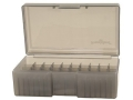Frankford Arsenal Flip-Top Ammo Box #507 41 Remington Magnum, 44 Remington Magnum, 45 Colt (Long Colt) 50-Round Plastic