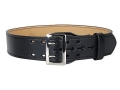 "Product detail of Gould & Goodrich B59FL Duty Belt 2-1/4"" Nickel Plated Brass Buckle Leather"