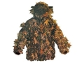 Shannon Men&#39;s 3-D Big Leaf Bug Tamer Plus Parka with Face Shield Polyester
