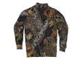 Product detail of Russell Outdoors Men's Explorer Mock T-Shirt Long Sleeve Cotton