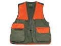 Beretta Mens Cordura Field Vest Cotton and Cordura