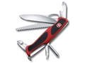 Victorinox Swiss Army RangerGrip 78 Folding Pocket Knife 11 Function Stainless Steel Blade Polymer Handle Red and Black