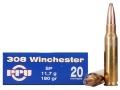 Prvi Partizan Ammunition 308 Winchester 180 Grain Soft Point Box of 20