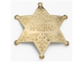 Collector&#39;s Armoury Replica Old West Marshal Badge Brass
