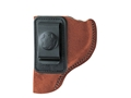 Bianchi 6 Inside the Waistband Holster Left Hand Sig Sauer P228, P229, Taurus PT-24/7 Suede Leather Natural