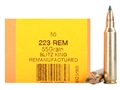 HSM Remanufactured Ammunition 223 Remington 55 Grain Sierra BlitzKing Polymer Tip Boat Tail Box of 50