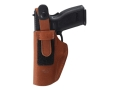 Bianchi 6D ATB Inside the Waistband Holster Right Hand Glock 20, 21, S&amp;W Sigma SW9F, SW40F, SW40V, Springfield XD9, XD40 Suede Tan