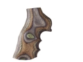 Hogue Fancy Hardwood Grips with Finger Grooves Ruger GP100, Super Redhawk Lamo Camo