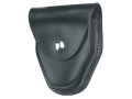 Gould & Goodrich B670 Handcuff Case for S&W Model 1 Handcuffs Leather Black