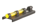 "Williams Fire Sight Ventilated Rib Width 3/8"" Aluminum Black Fiber Optic Yellow"