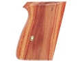 Hogue Fancy Hardwood Grips Walther PPK Checkered Tulipwood