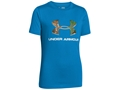 Under Armour Youth Camo Logo Short Sleeve T-Shirt Charged Cotton