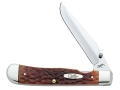 "Case TrapperLock Folding Knife 3"" Clip Point Blade"