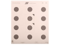 NRA Official Smallbore Rifle Target USA/NRA-50 50-Foot Paper Package of 100