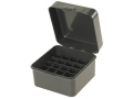 "MTM Flip-Top Shotshell Box 10, 12 Gauge 2-3/4"", 3"", 3-1/2"" 25-Round Plastic"