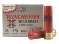 Winchester Super-X High Brass Ammunition 28 Gauge 2-3/4&quot; 1 oz #8 Shot Box of 25