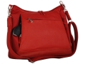Gun Tote'N Mamas Large Hobo Handbag Leather Red