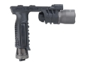 Surefire M910A Vertical Foregrip Xenon and White LED Bulbs and Thumbscrew Mount with Batteries (3 CR123A) Nitrolon and Aluminum Black
