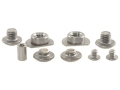 Product detail of STI Screw Kit STI-2011, SVI 2 Bushings, 2 Upper Screws, 2 Lower Screws and Trigger Screws Stainless Steel