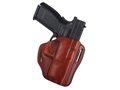 "Bianchi 57 Remedy Outside the Waistband Holster Right Hand Springfield XD 9, 40 4"" Leather Tan"