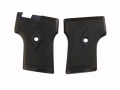 Vintage Gun Grips Webley One Screw without Escutcheon 25 ACP Polymer Black