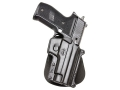 Product detail of Fobus Paddle Holster Right Hand Sig Sauer P230, P232 Polymer Black