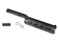 Product detail of Vltor CASV-SX Step Level Free Float Modular Rail Handguard AR-15 Mid Length Aluminum Black