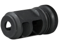 "Product detail of Advanced Armament Co (AAC) Blackout Muzzle Brake 80-Tooth Cyclops Suppressor Mount Barrett 50 BMG Rifles 7/8""-14 Thread Steel Matte"