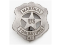 Collector&#39;s Armoury Replica Old West Deluxe US Marshal Tombstone Badge