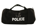 Uncle Mike's Compact Duffel Bag Police Logo Nylon Black