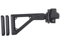 Product detail of Choate Adjustable Side Folding Stock HK 93 Steel and Synthetic Black