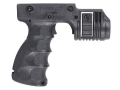 Mako Vertical Forend Grip and Trigger Activated Light Mount Polymer Black