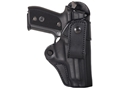 BLACKHAWK! Inside the Waistband Holster Right Hand Leather Belt Loop Beretta 92, 96 Leather Black