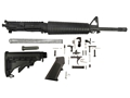 "Del-Ton Mid-Length Carbine Kit AR-15 5.56x45mm NATO 1 in 9"" Twist 16"" Barrel Upper Assembly, Lower Parts Kit, M4 Collapsible Buttstock"