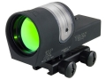 Trijicon RX30-14 Reflex Sight 1x 42mm 6.5 MOA Dual-Illuminated Amber Dot with Flat-Top Mount Matte