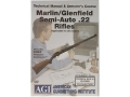 American Gunsmithing Institute (AGI) Technical Manual &amp; Armorer&#39;s Course Video &quot;Marlin/Glenfield Semi-Auto .22 Rifles&quot; DVD